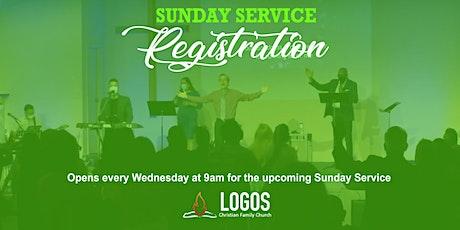 Logos Church - July 25th Sunday Service 10am tickets