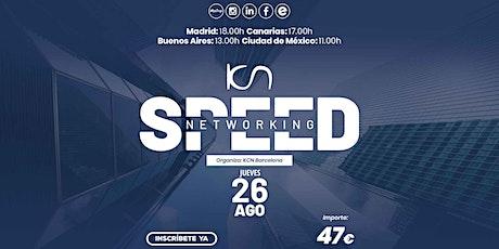 KCN Barcelona Speed Networking Online 26 Ago entradas