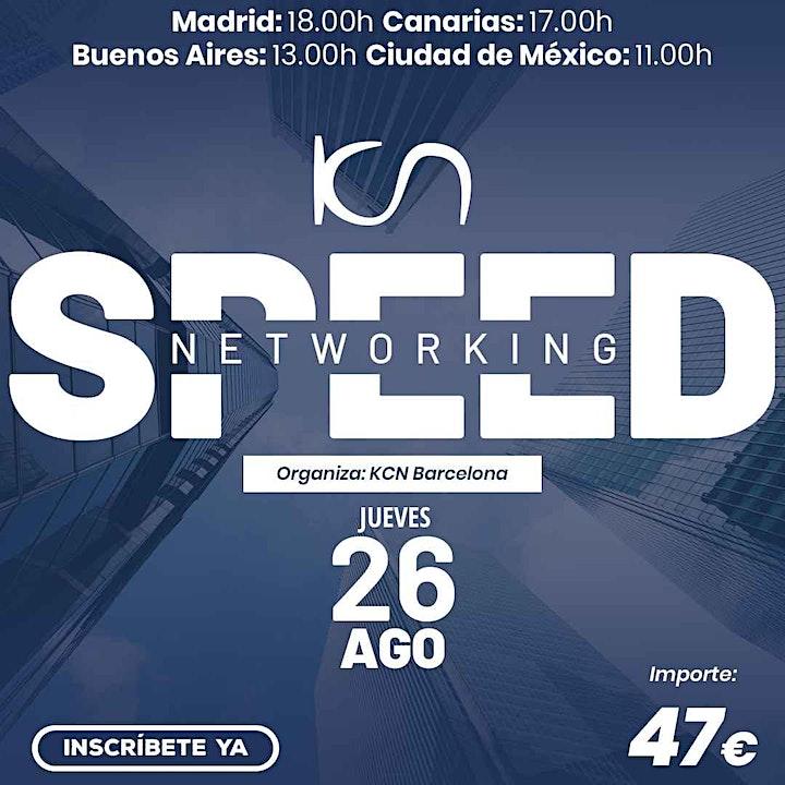 Imagen de KCN Barcelona Speed Networking Online 26 Ago