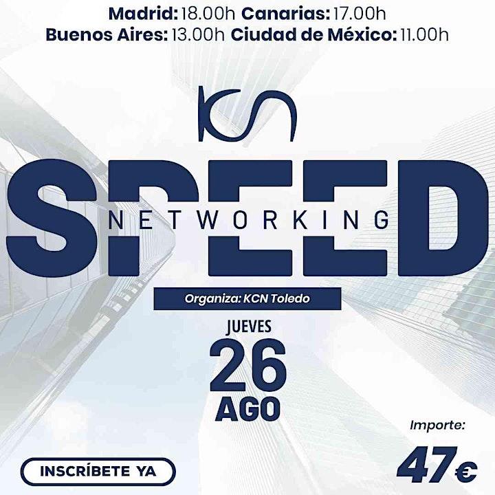 Imagen de KCN Toledo Speed Networking Online 26 Ago