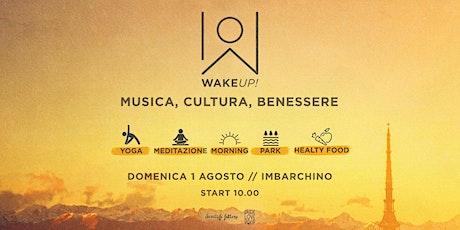 WAKE UP! Enjoy the morning energy! // Sri Sri Yoga biglietti