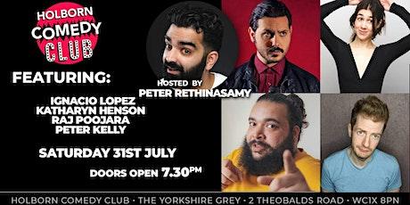 Holborn Comedy Club **Launch Night** tickets