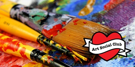 Adult Painting Workshop at Art Social Club - no art skills needed! (BYOB) tickets