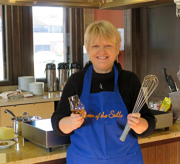 Virtual Cookalong with Martine Nouet - for Whisky + Dessert Lovers image