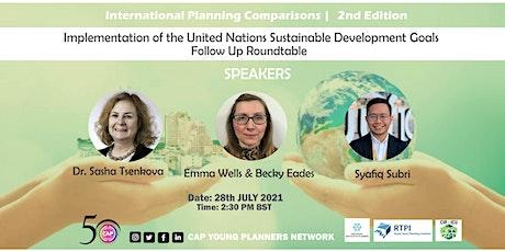 International Planning Comparisons - 2nd Edition tickets