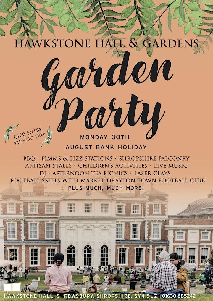 Garden Party at Hawkstone Hall & Gardens image