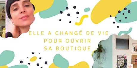 Elle a changé de vie pour ouvrir son concept store ! billets