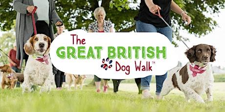 The Great British Dog Walk 2021 - Canonteign Falls tickets