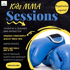 Kids MMA Sessions tickets