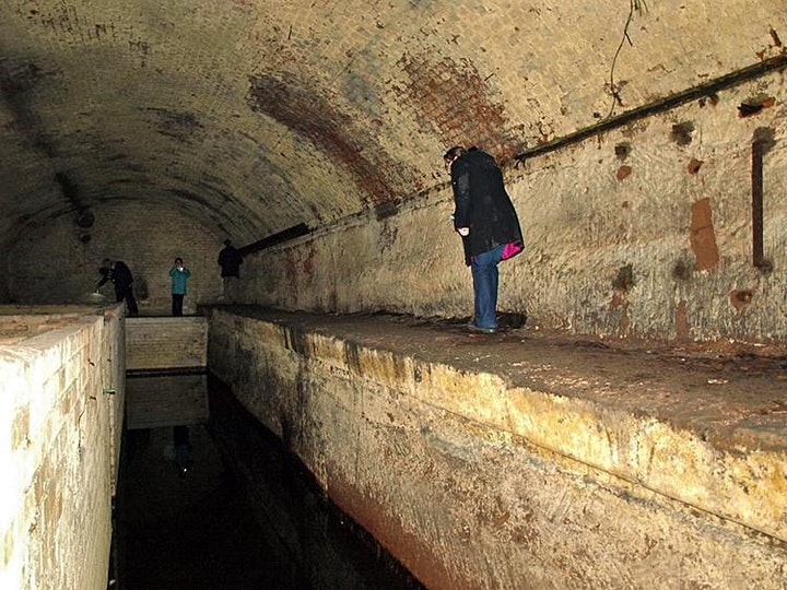 The  Secret  Underground Tunnels of Manchester Tour (on Zoom) image