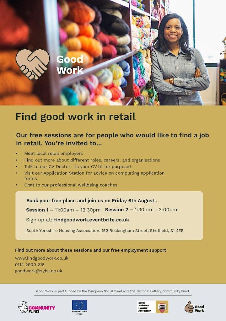 Good Work Retail Workshop image