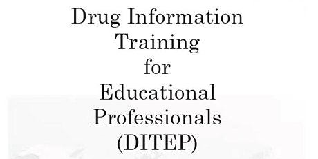 Drug Impairment Training for Education Professionals (DITEP) Day 2 tickets