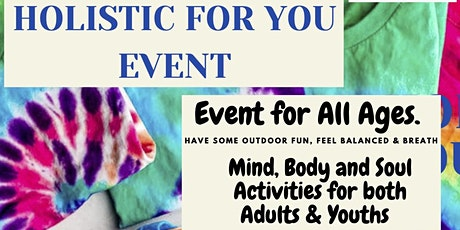 Holistic For YOU Event tickets