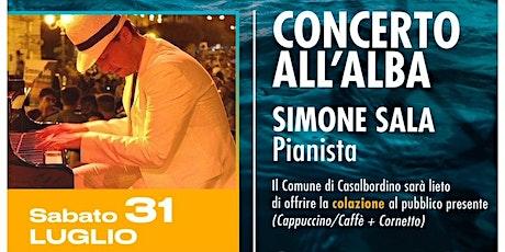 UN MARE DI MUSICA CONCERTO ALL'ALBA CON SIMONE SALA PIANOFORTE biglietti