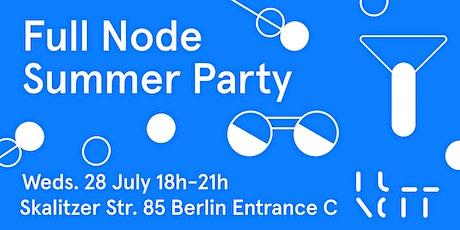Full Node Summer Party Tickets