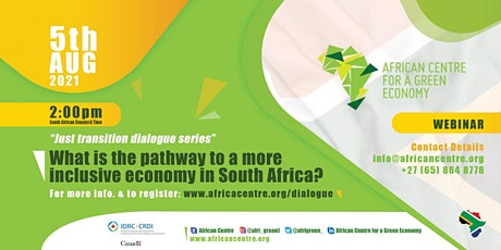What is the pathway to a new economy in South Africa? tickets