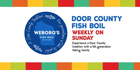 Weborg's Fish Boil tickets