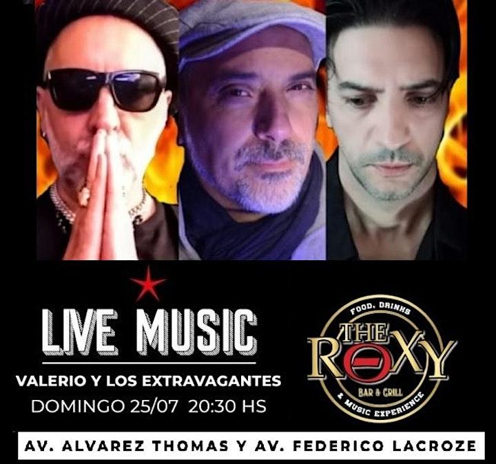 Imagen de Valerio y Los Extravagantes en vivo en el ROXY (Buenos Aires)!