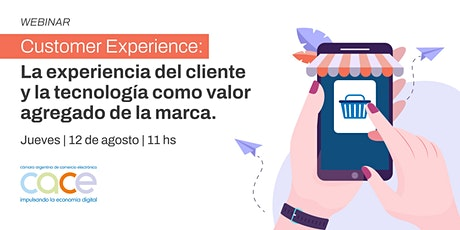 Webinar CACE - Customer Experiencie entradas