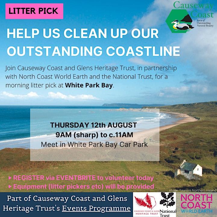 Litter Pick at White Park Bay image