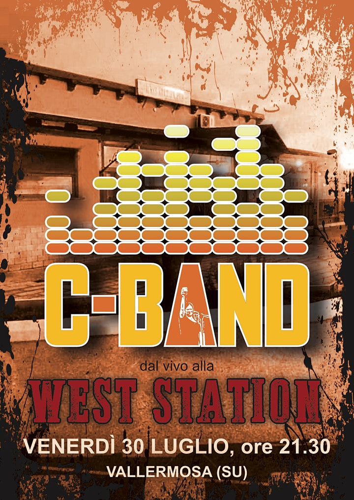 Immagine C-Band live @ West Station