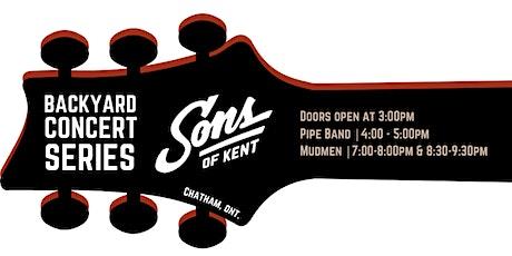 Sons of Kent Backyard Concert Series ft. Mudmen tickets