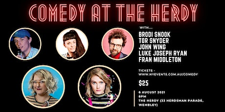 Comedy @ The Herdy - NY Events tickets