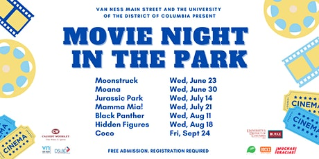 Movie Night in the Park at the UDC Amphitheater tickets