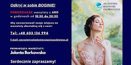 ODKRYJ W SOBIE BOGINIĘ! tickets