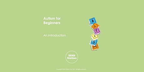 Autism for Beginners tickets