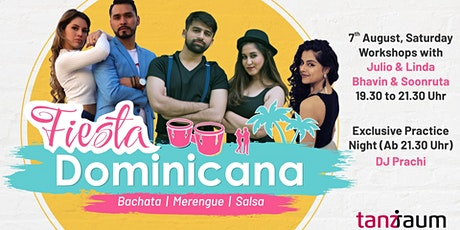 Fiesta Dominicana - Workshops & Exclusive Practice Night Tickets