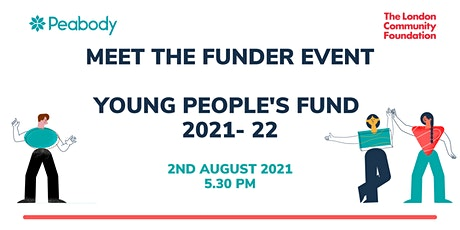 Meet the Funder- Young People's Fund 2021-22 tickets