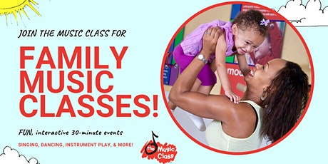 The Music Class: Free Virtual Music Class For The Whole Family! tickets