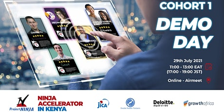 JICA NINJA Accelerator in Kenya - Demo Day (Cohort 1) tickets