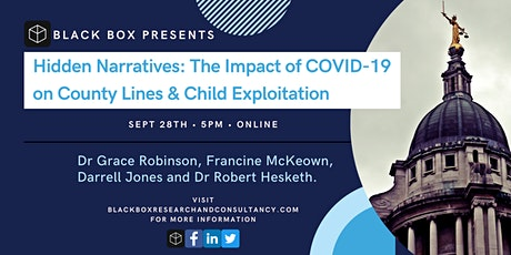 Hidden Narratives: The Impact of COVID-19 on County Lines tickets