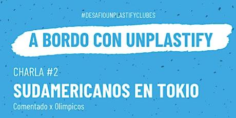 Charla #2 :  Sudamericanos en Tokio - contado por olímpicos entradas