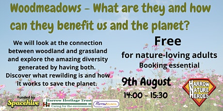 Woodmeadow: what are they and how do they benefit us and the planet. tickets