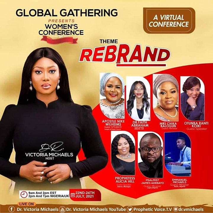 Global Gathering Women Conference-Rebrand image