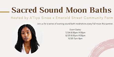 Sacred Sound Moon Baths tickets