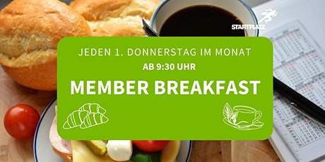 Member Breakfast Düsseldorf Tickets