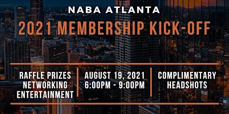 NABA Atlanta 2021 Membership Kick-Off tickets