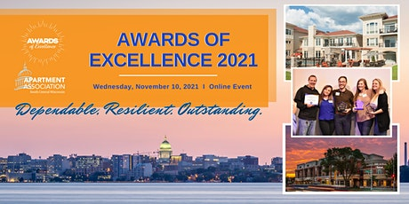 Awards of Excellence 2021 tickets