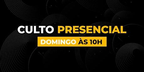 Culto Presencial DOMINGO MANHÃ - Bola de Neve Campinas ingressos