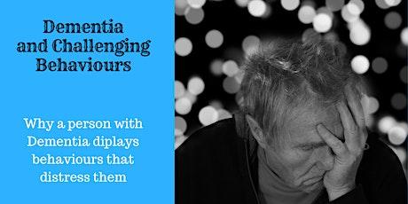 Distress Behaviours and dementia tickets