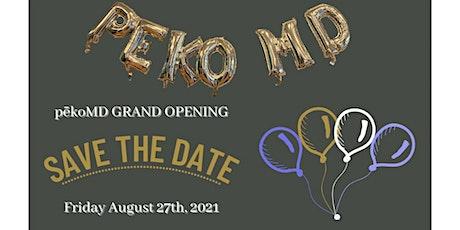 Peko MD Grand Opening tickets