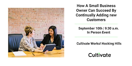 How A Small Business Owner Can Succeed By Continually Adding New Customers tickets