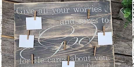 August 24th  Prayer Board  Workshop at The Crafty Nest  - Whitinsville tickets