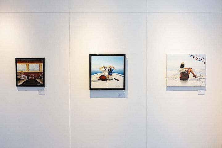 Johnny Popkess x S&P Gallery Live Open Studio Art Event image