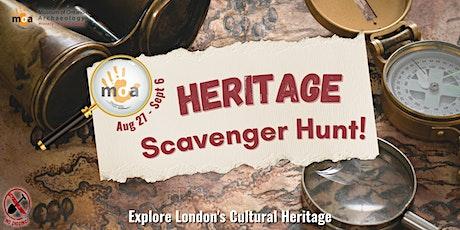 Heritage Scavenger Hunt tickets