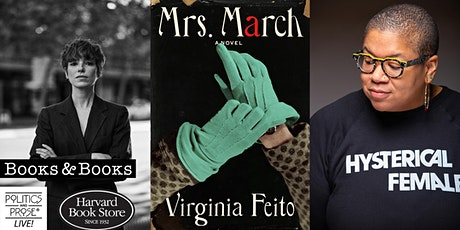 P&P Live! Virginia Feito   MRS. MARCH: A Novel with Samantha Irby tickets
